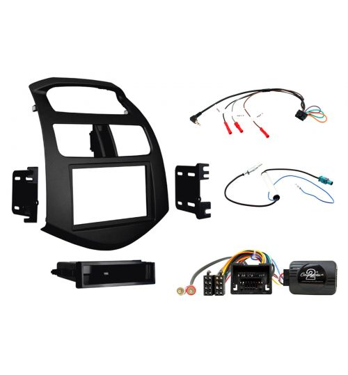Connects2 Car Stereo Fitting Kit Double DIN Facia Radio Installation For Chevrolet - CTKCV05
