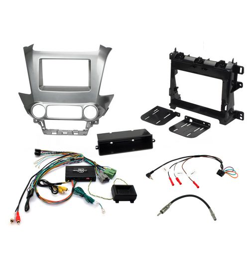Connects2 Car Stereo Fitting Kit Double DIN Facia Radio Installation For Chevrolet - CTKCV10