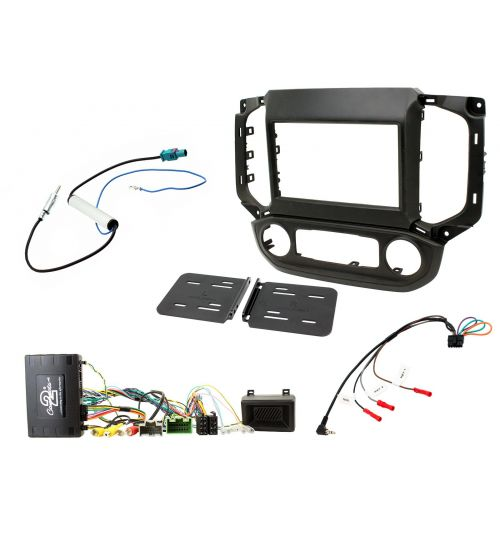 Connects2 Car Stereo Fitting Kit Double DIN Facia Radio Installation For Chevrolet - CTKCV12
