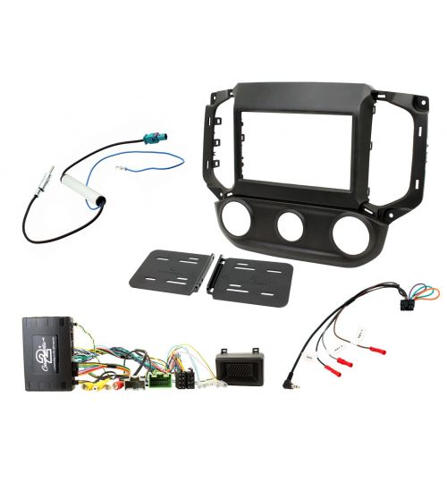 Connects2 Car Stereo Fitting Kit Double DIN Facia Radio Installation For Chevrolet - CTKCV13