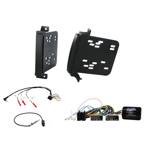 Connects2 Car Stereo Fitting Kit Double DIN Facia Radio Installation For Chrysler - CTKCH01