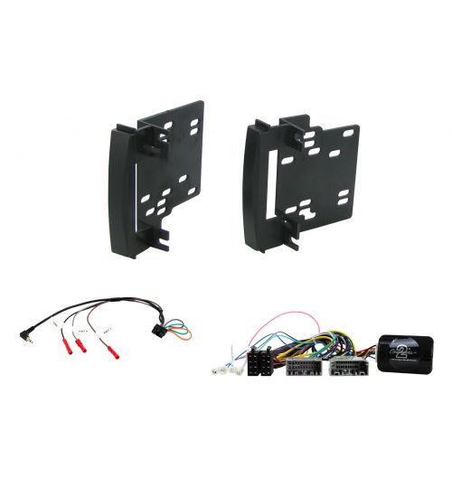 Connects2 Car Stereo Fitting Kit Double DIN Facia Radio Installation For Chrysler - CTKCH02