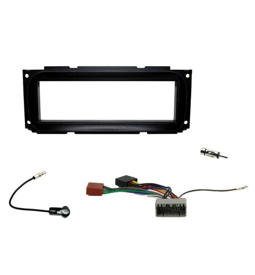 Connects2 Car Stereo Fitting Kit Single DIN Fascia Radio Fitting Kit For Jeep - CTKJP01-ISO