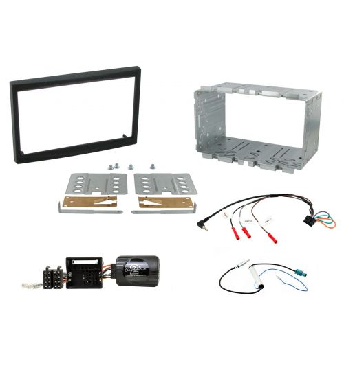 Connects2 Car Stereo Fitting Kit Double DIN Facia Radio Installation For Citroen - CTKCT01
