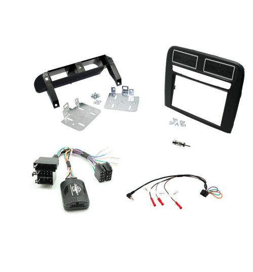 Connects2 Car Stereo Fitting Kit Double DIN Facia Radio Installation For Fiat -  CTKFT15L