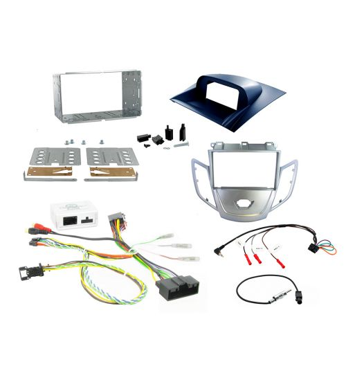 Connects2 Car Stereo Fitting Kit Double DIN Facia Radio Installation For Ford - CTKFD11