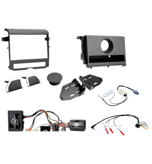 Connects2 Car Stereo Fitting Kit Double DIN Facia Radio Installation For Land Rover Discovery - CTKLR09