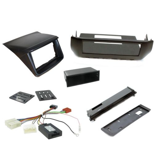 Connects2 Car Stereo Fitting Kit Double DIN Facia Radio Installation For Mitsubishi - CTKMT07