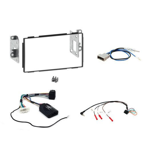 Connects2 Car Stereo Fitting Kit Double DIN Facia Radio Installation For Nissan - CTKNS03