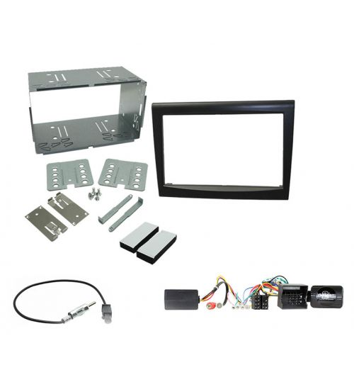 Connects2 Car Stereo Double DIN Fascia Radio Installation Kit For Porsche - CCKPO010
