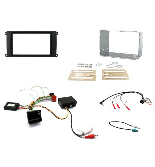 Connects2 Car Stereo Fitting Kit Double DIN Facia Radio Installation For Porsche - CTKPO03