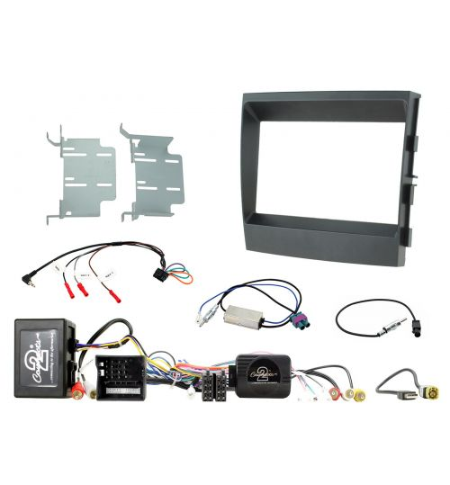 Connects2 Car Stereo Fitting Kit Double DIN Facia Radio Installation For Porsche - CTKPO05