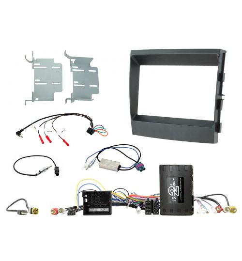 Connects2 Car Stereo Fitting Kit Double DIN Facia Radio Installation For Porsche - CTKPO06