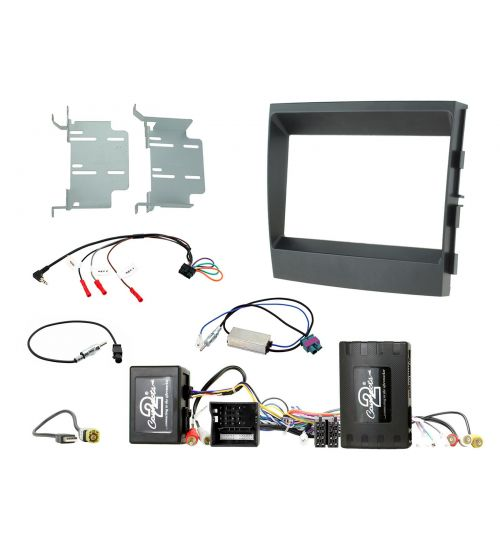 Connects2 Car Stereo Fitting Kit Double DIN Facia Radio Installation For Porsche - CTKPO07