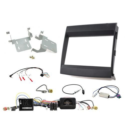 Connects2 Car Stereo Fitting Kit Double DIN Facia Radio Installation For Porsche - CTKPO08