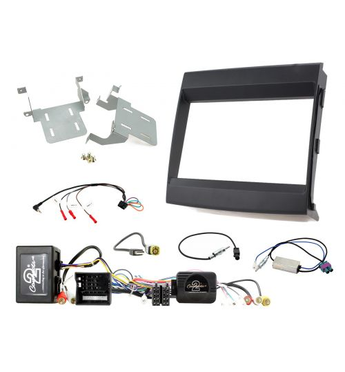 Connects2 Car Stereo Fitting Kit Double DIN Facia Radio Installation For Porsche - CTKPO09