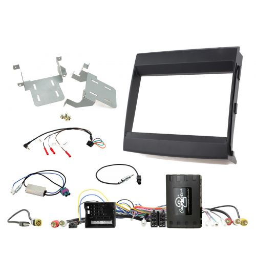 Connects2 Car Stereo Fitting Kit Double DIN Facia Radio Installation For Porsche - CTKPO10