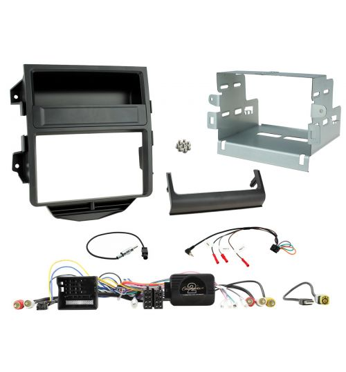 Connects2 Car Stereo Fitting Kit Double DIN Facia Radio Installation For Porsche - CTKPO12