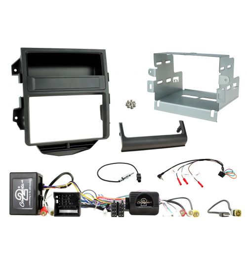 Connects2 Car Stereo Fitting Kit Double DIN Facia Radio Installation For Porsche - CTKPO13