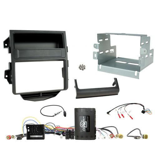 Connects2 Car Stereo Fitting Kit Double DIN Facia Radio Installation For Porsche - CTKPO14