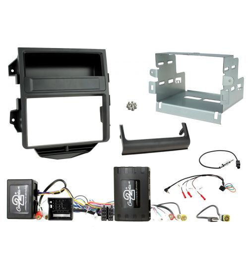 Connects2 Car Stereo Fitting Kit Double DIN Facia Radio Installation For Porsche - CTKPO15