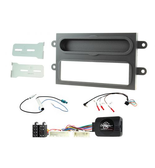Connects2 Car Stereo Fitting Kit Single DIN Facia Radio Installation For Renault - CTKRT08