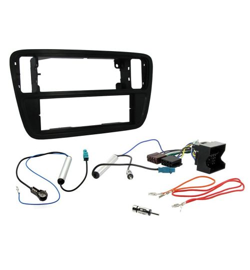 Connects2 Car Stereo Fitting Kit Single DIN Fascia Radio Fitting Kit For Seat - CTKSK01-ISO