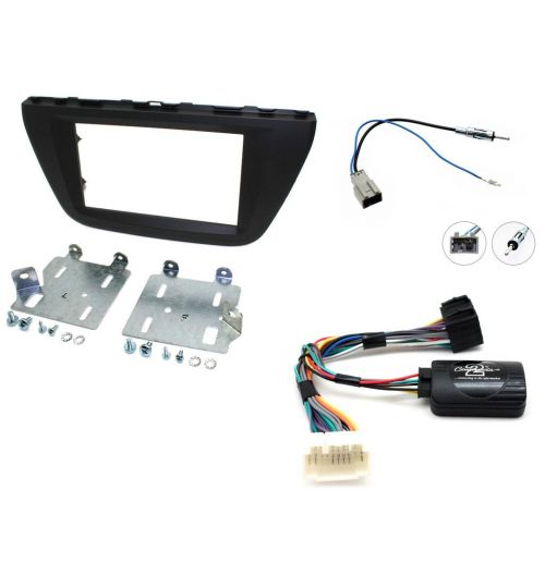 Connects2 Car Stereo Fitting Kit Double DIN Facia Radio Installation For Suzuki - CTKSZ06