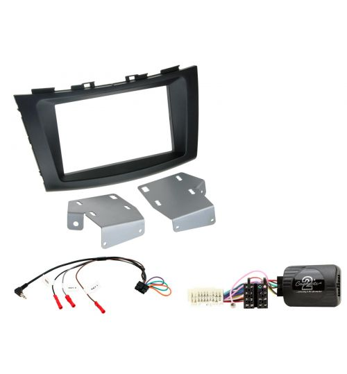 Connects2 Car Stereo Fitting Kit Double DIN Facia Radio Installation For Suzuki - CTKSZ09