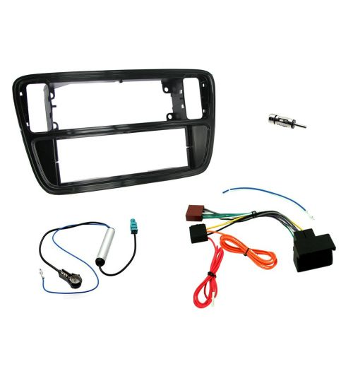 Connects2 Car Stereo Fitting Kit Single DIN Fascia Radio Fitting Kit For Volkswagen - CTKVW02-ISO