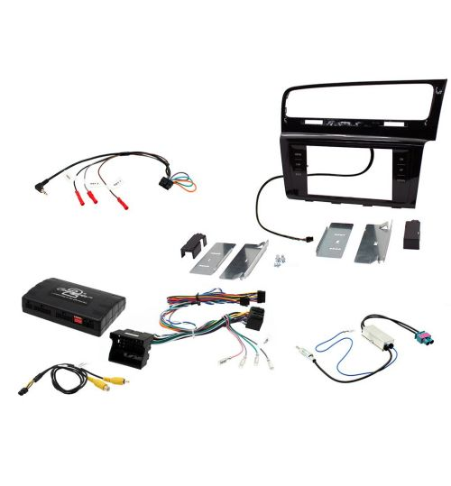 Connects2 Car Stereo Fitting Kit Double DIN Facia Radio Installation For Volkswagen - CTKVW15