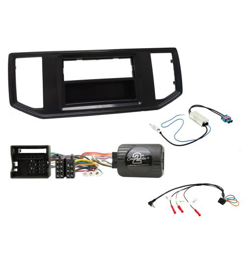 Connects2 Car Stereo Fitting Kit Single DIN Facia Radio Installation For Volkswagen - CTKVW21