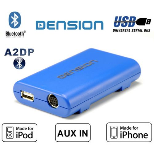 Dension Gateway Lite BT GBL3BM1/A2DP non-text BMW iPod iPhone/USB/AUX/Bluetooth Interface Adaptor