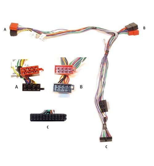 KRAM 84000 /06-050B UNIVERSAL Telemute ISO Car Kit Lead
