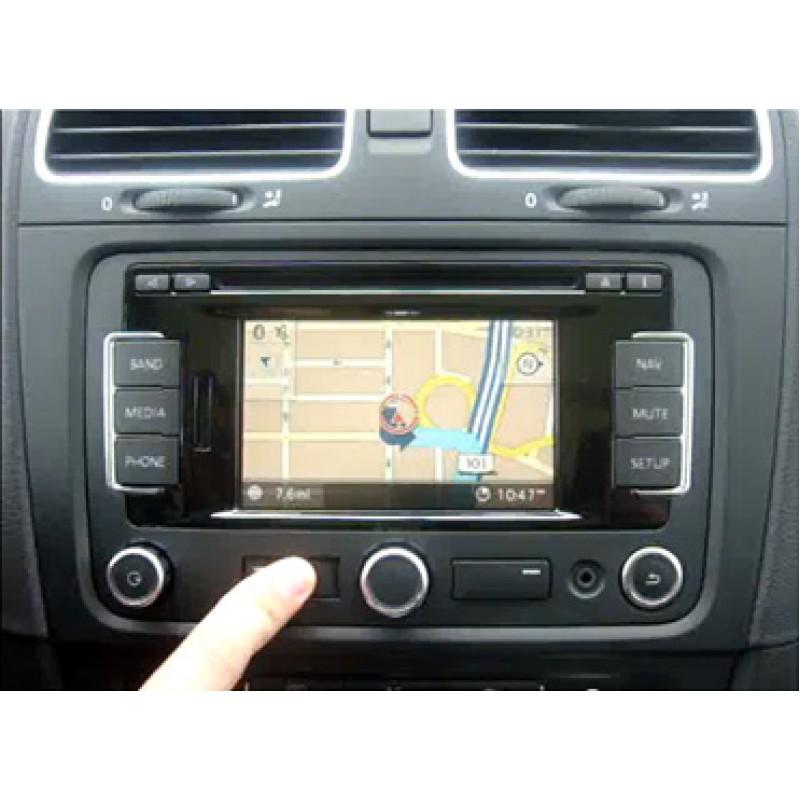 volkswagen rns 315 touchscreen navigation system bluetooth. Black Bedroom Furniture Sets. Home Design Ideas