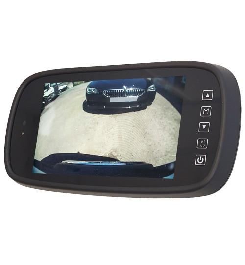 """MotorMax MM620QM 6.2"""" Quad Input Mirror Monitor"""