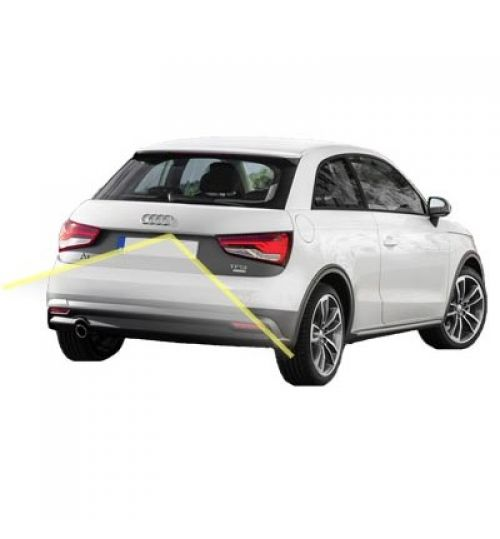Audi A1 Rear View Reversing Camera Kit with Moving Guidelines