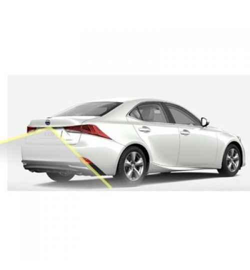 Lexus IS300 Reversing Rear View Camera Kit with Guidelines