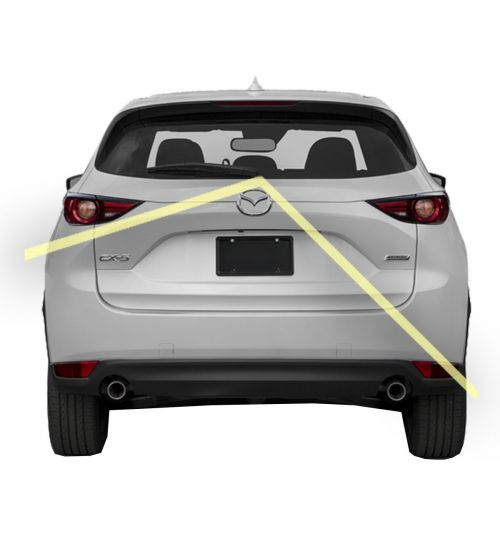 Mazda CX-5 Reversing Rear View Camera Kit With Guidelines