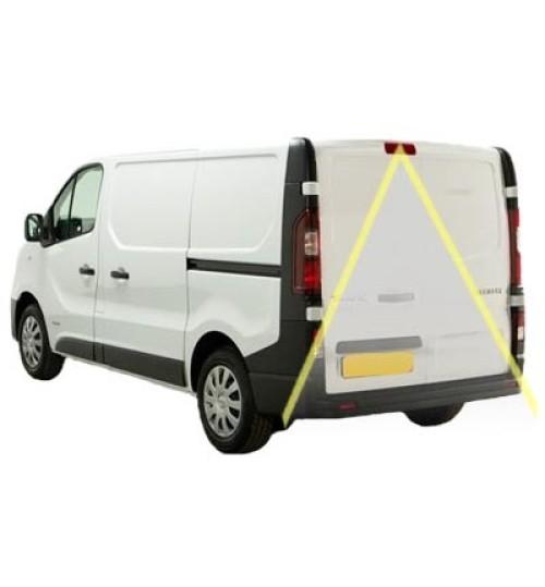 Renault Trafic Reversing Rear View Camera Kit for Media Nav Radio with Brake Light Camera