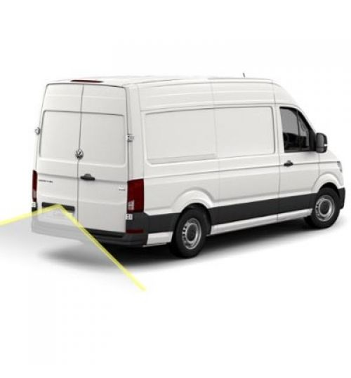 VW Crafter SY Reversing Camera Kit With Moving Guidelines 2017+
