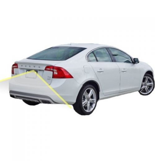 Volvo S60 Reversing Rear View Camera Kit with Guidelines