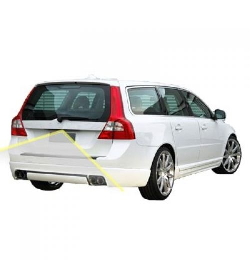 Volvo V70 Reversing Rear View Camera Kit with Guidelines