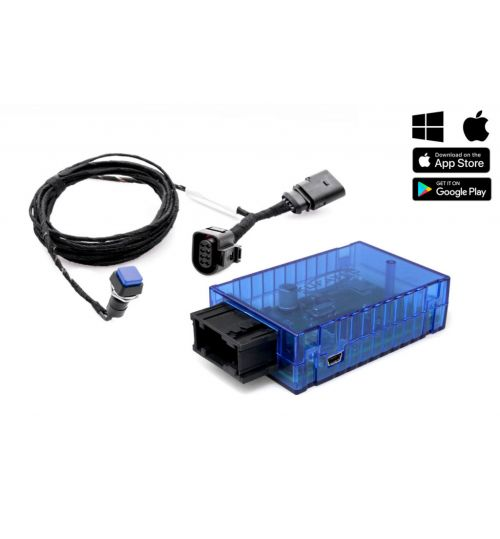 Sound Booster Pro Active Sound for Audi A6 (4G), A7 (4G), SQ5 with Bluetooth - 40180-1