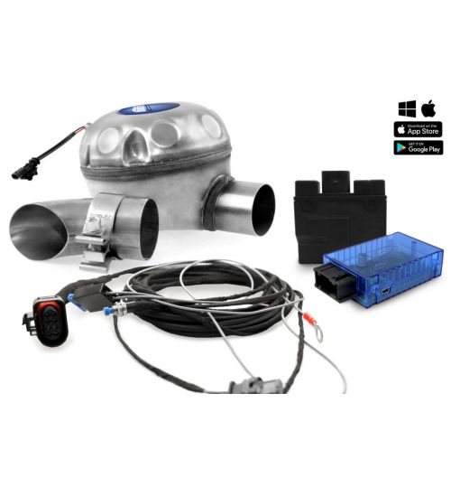 Universal complete kit Active Sound include Sound Booster outside installation