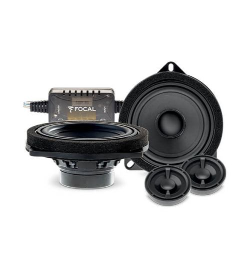 """Focal 5"""" 100mm 2 Way Component Car Audio Speaker Kit For BMW - IS BMW 100L"""