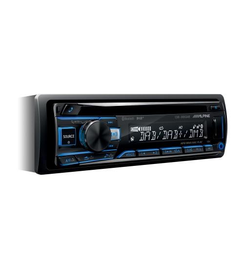 Alpine CDE-205DAB CD USB Receiver DAB Digital Radio Bluetooth Smartphone Connectivity