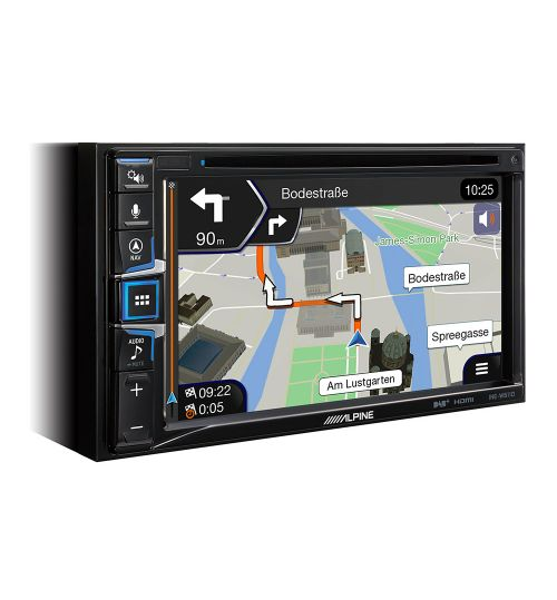 Alpine INE-W611D, DAB+, HDMI, CD/DVD Player and Apple CarPlay and Android Auto