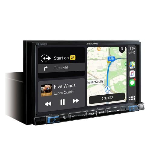 "Alpine INE-W720D 7"" Car Sat Nav Apple CarPlay Android Auto Bluetooth DAB"