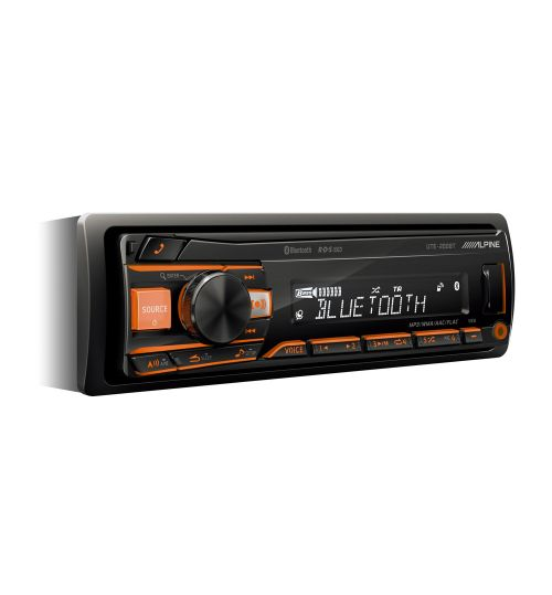 Alpine UTE-200BT Digital Media Receiver With Bluetooth AUX In USB iPod iPhone